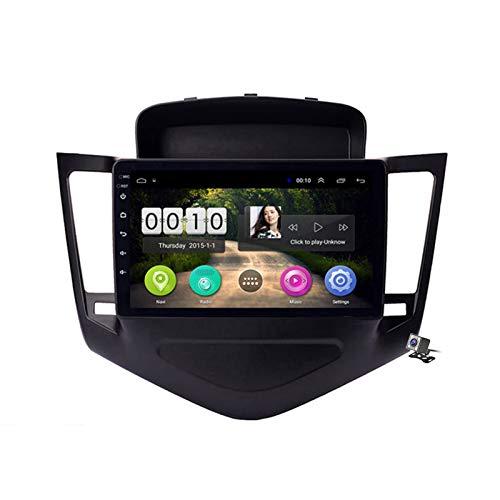 Android 8.1 Car Radio de Navegación GPS para Chevrolet Cruze 2009-2014 con 9 Pulgada Pantalla Táctil Support WLAN FM Am/MP5 Player/Bluetooth Steering Wheel Control,WiFi: 1+16gb