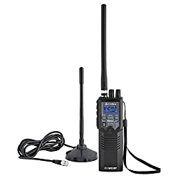 Cobra HHRT50 Road Trip Cb Radio – Emergency Radio, Travel Essentials, 2-Way Handheld Black Radio with Rooftop Magnet…