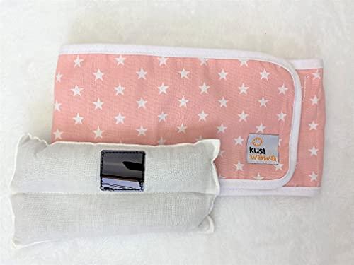 Wawa Band - cinturón anti gases bebé 4-9 meses (rosa)