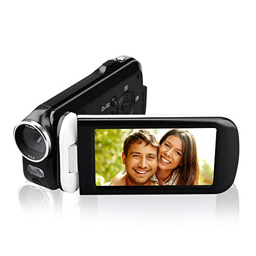 Video Camera Camcorder, CamKing 2.7K 18X HD Ultra-Thin Digital Video Camera with 3.0 Inch HD...