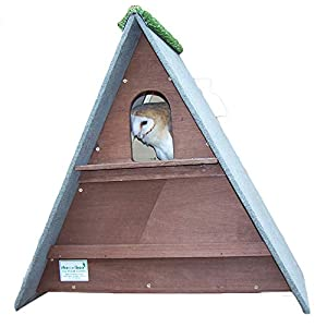 barn owl nest box (Dark Brown)