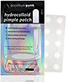 Acne Pimple Patch (75 Acne Patches) Korean Medical Grade Hydrocolloid Acne Spot Treatment for Skin. Absorbing Cover Stickers for Healing Zits on Face. Goodbye Gunk Invisible Dots for Skin (2 sizes).