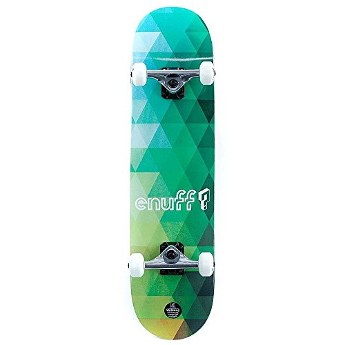 Enuff Skateboards - Enuff Geometric Green Compl...