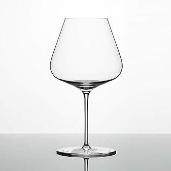 Zalto Denk'Art Burgundy Wine Glass, Crystal Glass for Red Wine like Chardonnay and Pinot Noir