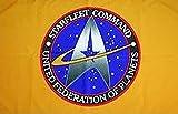 UB Fahne/Flagge Star Trek Starfleet Command 90 cm x 150 cm Neuware!!!