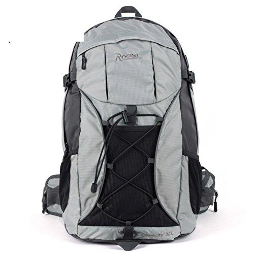 Backpack éclairage extérieur Sac de randonnée imperméable/32L Sac à Dos de randonnée Riding-Gray 32L