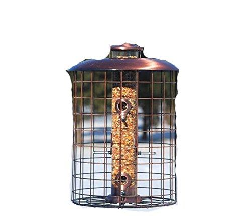 Woodlink WLCOPCAGE6S Coppertop Cages 6-Port Seed Feeder