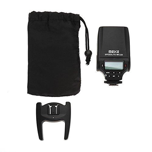 Xinwoer Speedlite Flash per Fotocamera MK320-P Speedlite Flash per Fotocamere Olympus DSLR per Fotocamere, per Olympus, Panasonic, ect