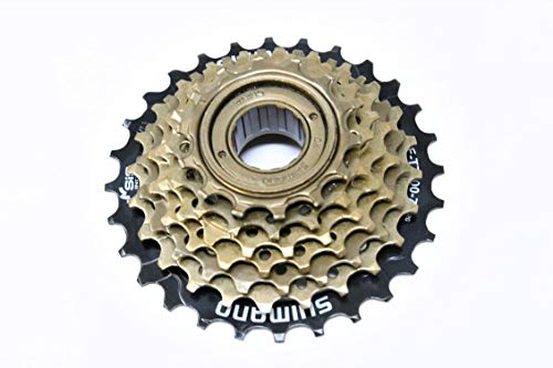 Hard To Find Bike Parts Genuine Shimano 7 Speed MF-TZ500-7 Index 14-28 Freewheel Block Screw On Cassette Cog Suits Adult And Childrens MTB Mountain Bikes