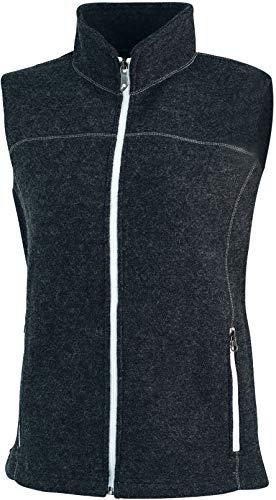 Ivanhoe dames wollen vest Beata Vest donkerblauw