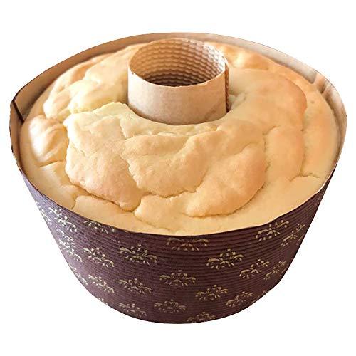 グルテンフリー 豆乳米粉シフォンケーキ (プレーン) アレルギー対応 冷凍便発送 gluten free chiffon cake