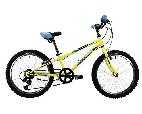 Marlin Cedric Hardtail Mountain Bike 20 pollici 24 cm ragazzi 6G freno a cerchio giallo