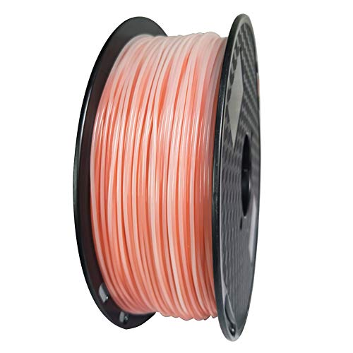 LHF 1kg Spool,PLA Filament 1.75mm Dimensional Accuracy +/- 0.02mm,3d Printer Filament,Changing With Temperature Orange White Pla 1kg