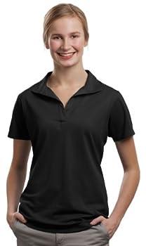 SPORT-TEK Women s Micropique Sport Wick Polo XL Black