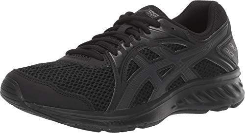 ASICS Women's Jolt 2 Running Shoes, 8, Black/Dark Grey