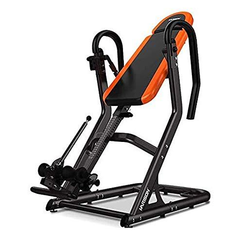For Sale! Logo Heavy-Duty Inverted Table - Adjustable Cervical Spine Inverted Table Home Fitness Equ...