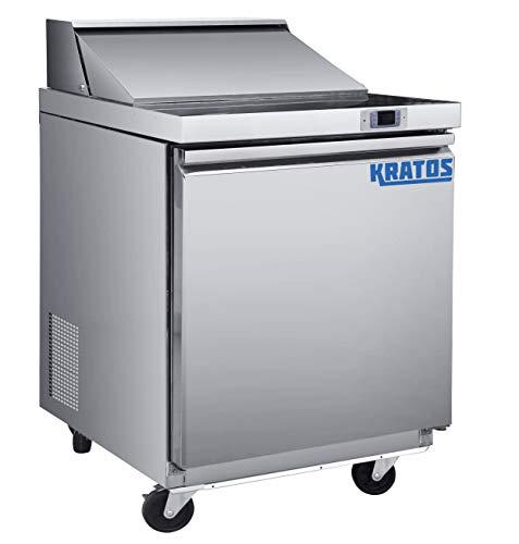 "Kratos Refrigeration 69K-769 29""W Sandwich/Salad Prep Table, 8 Pan Capacity"