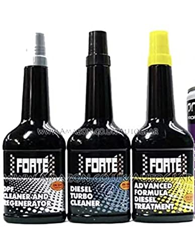 Forte Diesel Fuel System Treatment & DPF Cleaner & Turbo Cleaner Package