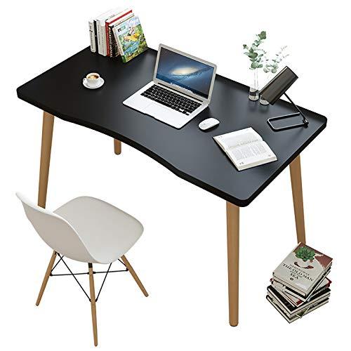 ADSEA Simple Madera Escritura Escritorio De Computadora,Mesa para PC Mesa De Trabajo Fácil De Montar Estable Mesa De Estudio para El Home Office