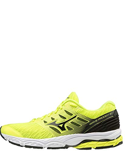 Mizuno Wave Prodigy 2, Scarpe Running Uomo, Giallo (Safety Yellow/Blk 09), 42 EU