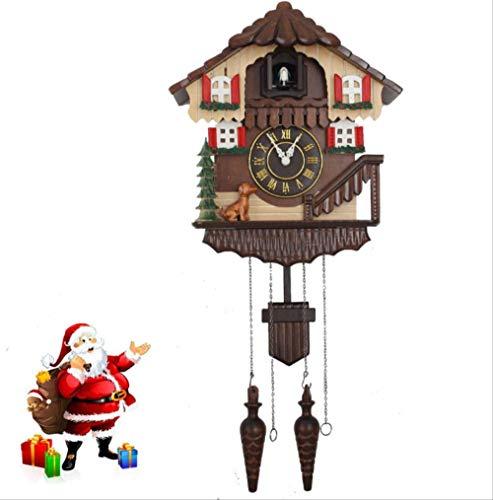 tytlclock Reloj De Pared De Cuco Rústico, Reloj De Pared, Herramientas De Decoración Navideña, Regalos, Dormitorio, Sala De Estar para Niños