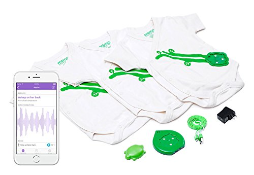 Mimo Smart Baby Breathing & Activity Monitor, 6-12 Months