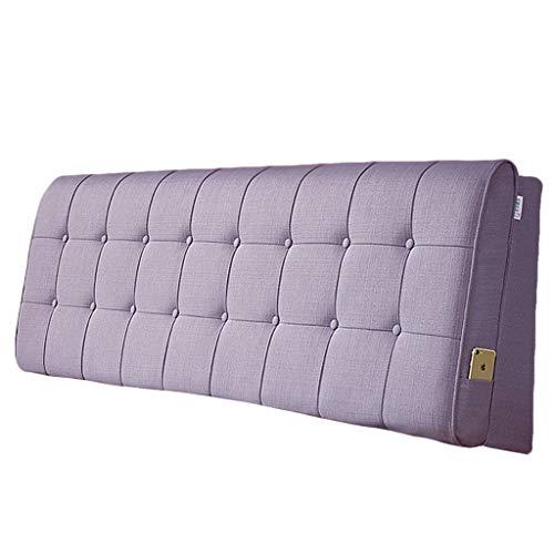 SACYSAC Rückenkissen am Bett mit gepolstertem Kopfteil in der Taille und großem Lesekissen,B,200 * 60 * 10cm