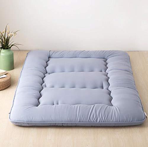 LQ&XL 10cm Dicke Bodenmatratze Tatami Gepolsterte matratze, Atmungsaktive Langsam Rebound Japanischen Boden futon-matratze Futonbett Matratze Futon Leicht zu Carry/C / 120x200cm