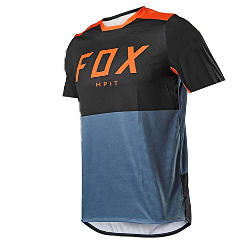 Cycling Jersey Maillot Ciclismo Moto Jersey Dh Off Road Mountain Bike Hpit Fox MTB Jersey BMX Motocross Jerseys-S