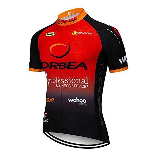 STEPANZU Abbigliamento Ciclismo Uomo Traspirante Maglia Manica Corta Abbigliamento Sportivo Abbigliamento Ciclismo Squadre Professionisti