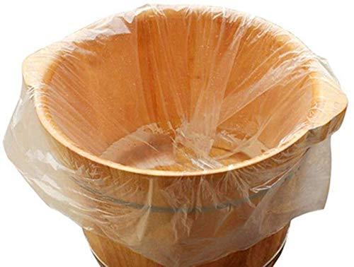 Bolsa de Plástico Especial Pedicura para La Protección de Pediluvio o Bañera, Paqute de 100 unidades