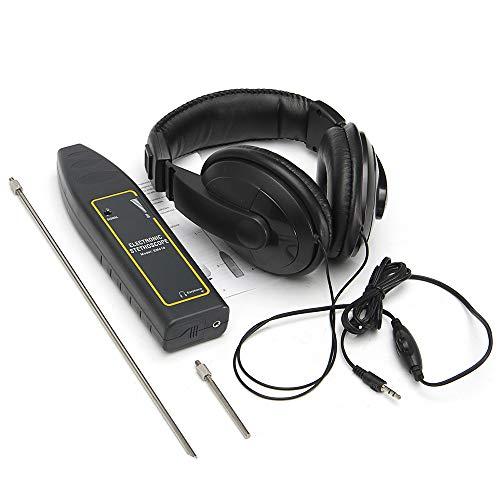 Leepesx 100Hz ~ 10kHz Auto-Lecksucher Auto Wasserleitung Elektronisches Stethoskop Kopfhörer-Erkennungsgerät