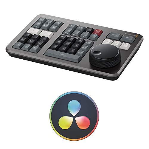 Blackmagic Design Davinci Resolve Speed Editor Bundle con Davinci Resolve 17 Studio (tarjeta de activación)