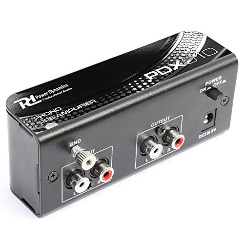 Phono Preamp Pre Amplifier Signal Boost for Record Players Turntables Line...