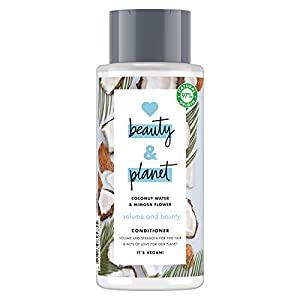 Love Beauty and Planet Volume & Bounty Acondicionador agua de coco & flor de mimosa 400ml