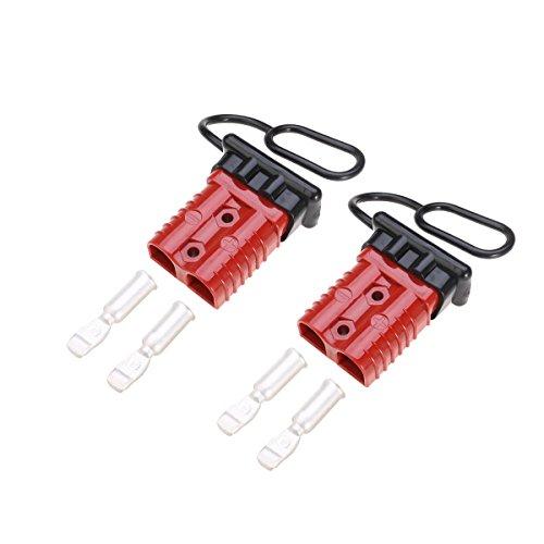 Winomo KFZ-Batterieanschluss, 175 A, Treiberbatterie, Schnellverbindungs-Set für Seilwinde, Anhänger