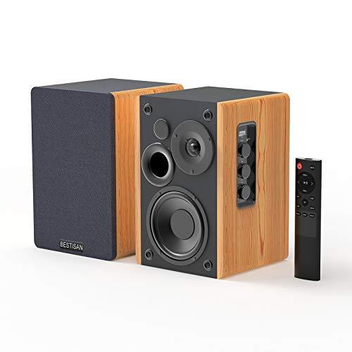 Bestisan Bookshelf Speakers Bluetooth Speakers