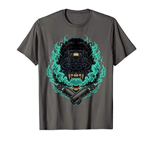 VAPING GORILLA Funny trendy gift vape t-shirt tshirt tee T-Shirt