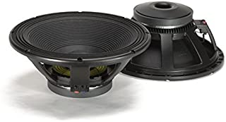 RCF LF18G401 18 in. Woofer with Linear Frequency Response Cheracteristics