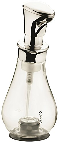 Cuisipro 83758000 Pompe Mousse 390 ml Chrome (assorti)