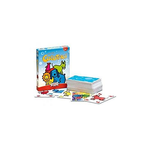 Gigamic - AMCOCO - Jeu de Cartes d'action et de Réflexe pour Enfant - Cocotaki