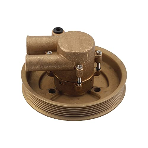 Dasbecan Raw Sea impeller Water Pump Compatible with Volvo Penta 4.3L 5.0L 5.7L Sea water Boat Engines Replaces# 21212799 3812519