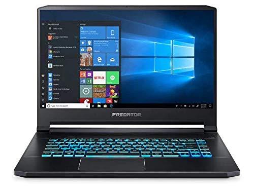 "Acer Predator Triton 500 15.6"" FHD 144Hz Gaming Laptop, Core i7-9750H, RGB Backlit Keyboard, HD SHDR Webcam, Thunderbolt 3, HDMI, NVIDIA GeForce RTX 2060, Win 10, Black (32GB RAM | 1TB PCIe SSD)"