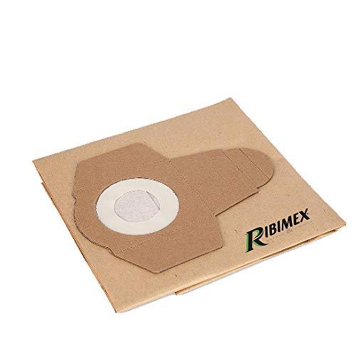 RIBIMEX PRBAT20/ASP20SB/F Set 3 sacchetti in carta per aspiratore RBAT20