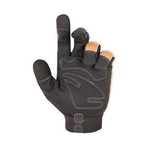 CLC 124L Workright Flex Grip Work Gloves, Shrink Resistant, Improved Dexterity, Tough, Stretchable, Excellent Grip