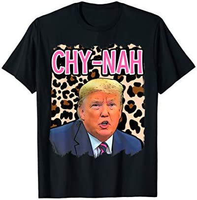 Funny Donald trump cute china humor chynah 2020 election T Shirt product image