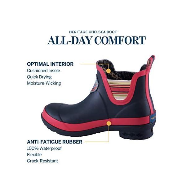 Pendleton Women's Heritage Chelsea Slip-Resistant Rain Boot