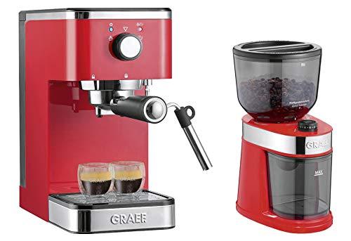 GRAEF Siebträger-Espressomaschine ES 403 salita mit Kaffeemühle cm 203