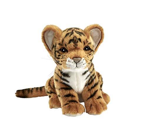 HANSA – Peluche Tigre marrón bebé Sentado 18 CMH (