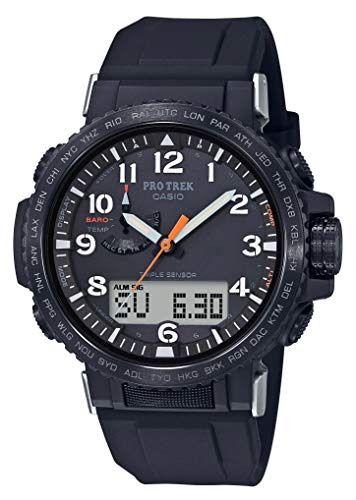 [カシオ] 腕時計 プロトレック クライマーライン 電波ソーラー PRW-50Y-1AJF メンズ ブラック